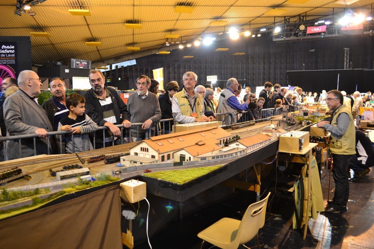Des photos du salon du train miniature 2013 a m f m 53 for Salon du train miniature