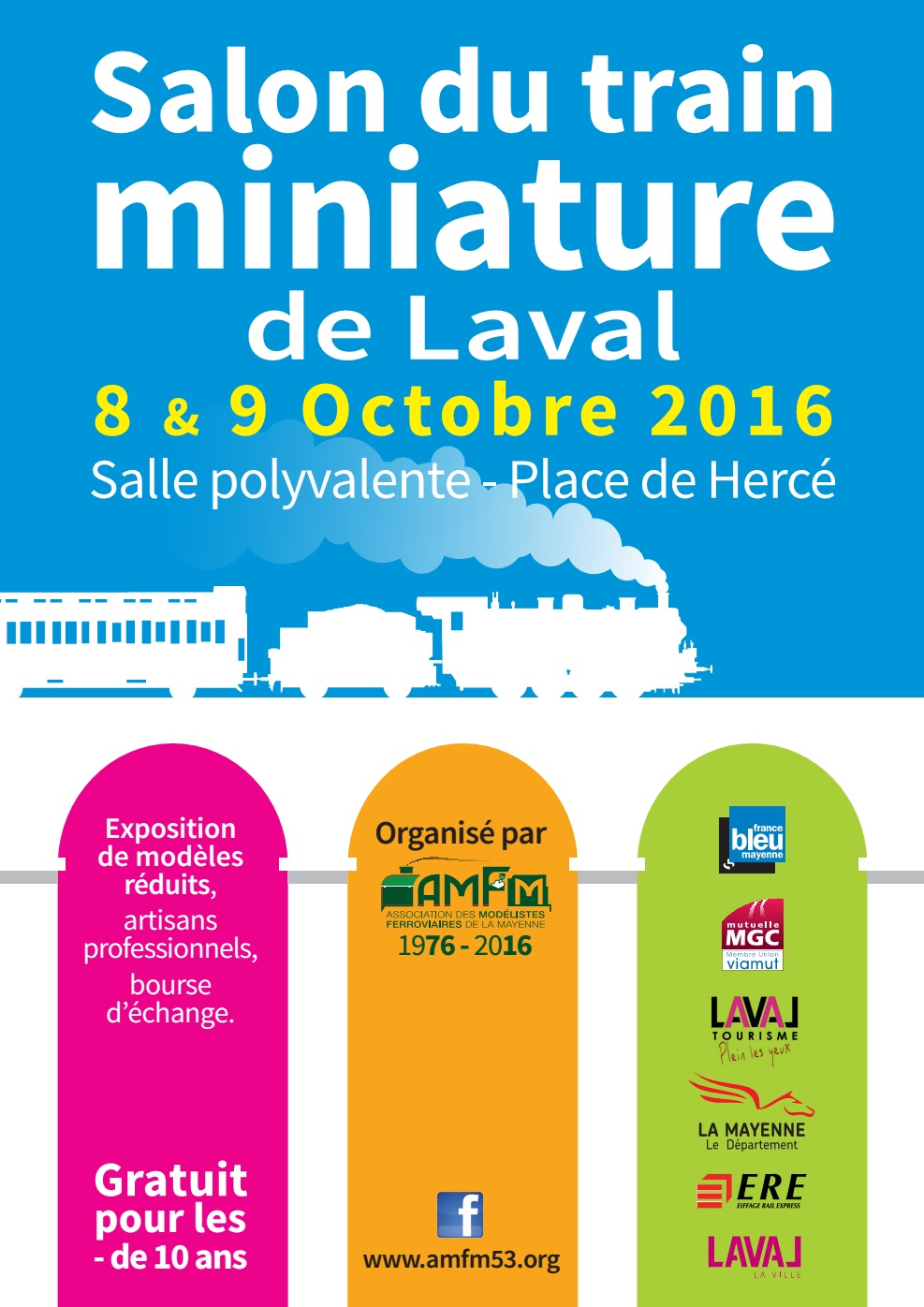 Salon du train miniature 2016 a m f m 53 for Salon du train miniature
